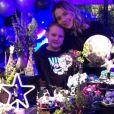 Carol Dantas celebra oito anos de Davi Lucca com festa em 25 de agosto de 2019