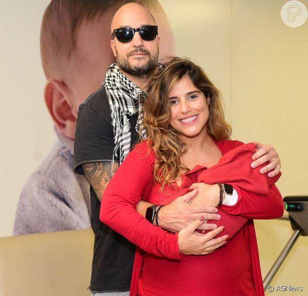 Camilla Camargo compara filho com marido, Leonardo Lessa, em vídeo nesta terça-feira, dia 27 de agosto de 2019