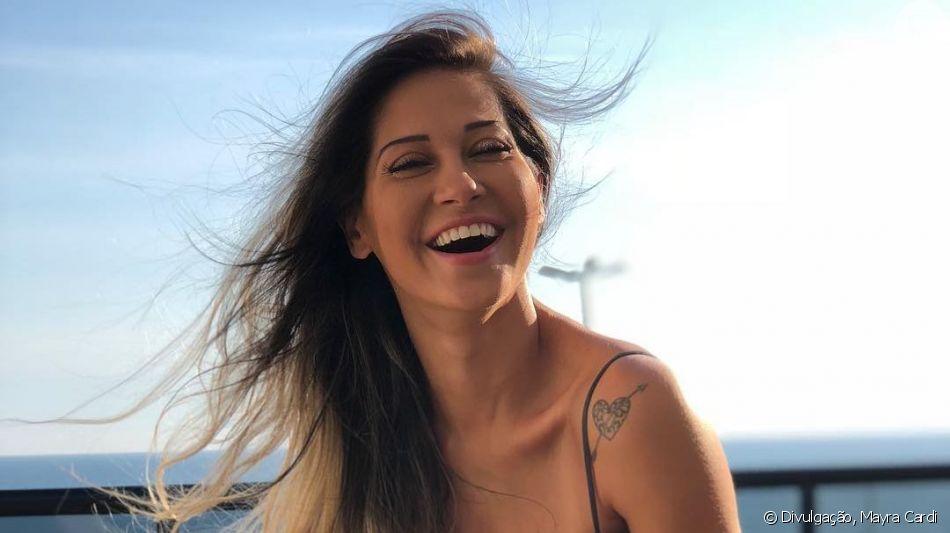 Mayra Cardi exibe resultado de preenchimento nos lábios nesta quarta-feira, dia 04 de setembro de 2019
