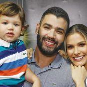 Andressa Suita compra cuecas para filho mais velho e pede: 'Tempo, vai devagar'