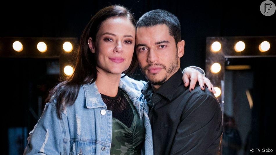 Vivi (Paolla Oliveira) aceita se casar com Camilo (Lee Taylor) para salvar Chiclete (Sergio Guizé) na novela 'A Dona do Pedaço'
