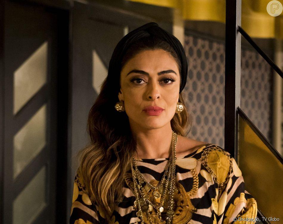 Nos próximos capítulos da novela 'A Dona do Pedaço', Maria da Paz (Juliana Paes) fica desconfiada ao ser chamada pelo nome por Matilde (Laura Cardoso): 'Curiosa'
