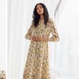 Kate Middleton usa vestidos florais com babados e decotes em 'v' que é trend da Primavera-Verão