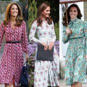 Veja os vestidos florais de Kate Middleton para você apostar na trend do Verão!
