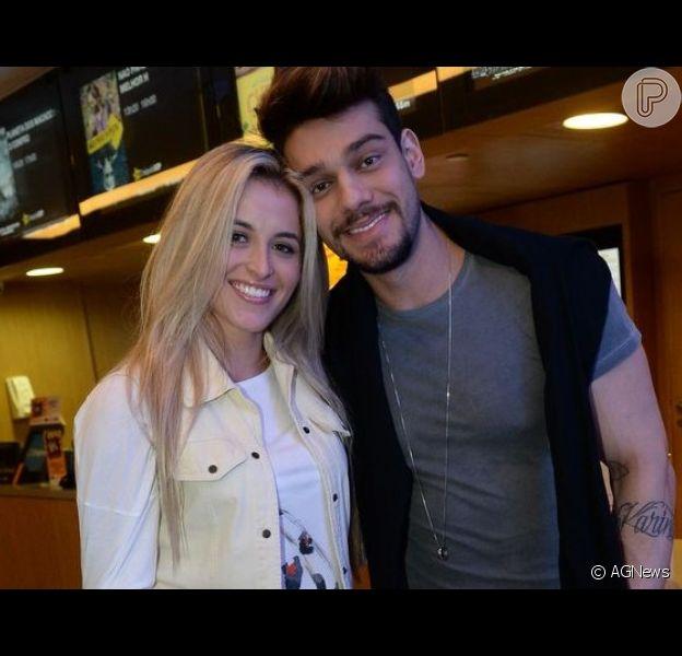 Lucas Lucco esclarece sobre suposta gravidez da noiva, Lorena Carvalho, nesta sexta-feira, dia 13 de agosto de 2019