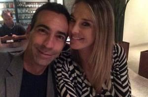 Ticiane Pinheiro janta com César Tralli após separação: 'Companhia especial'