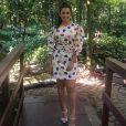 Thais Fersoza ostenta modernidade e elegância em looks