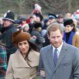 Meghan Markle e o marido, Príncipe Harry, foram a um casamento de amiga dela