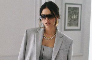 Marquezine usa look monocromático da grife de Rihanna: 'Me sentindo'. Fotos!