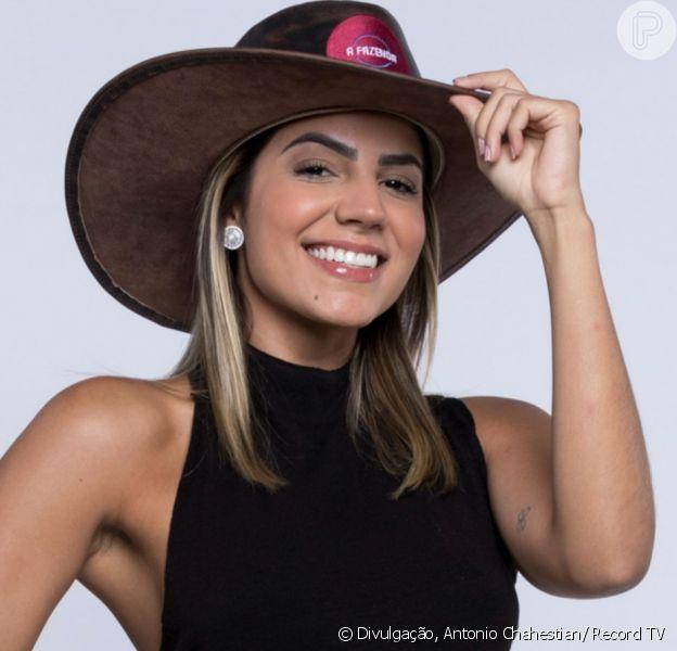 Família de Hariany Almeida pediu expulsão de Phellipe Haagensen de 'A Fazenda 11' nesta sexta-feira, 27 de setembro de 2019