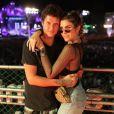 Julia Faria foi ao Rock in Rio com o namorado, Guto Calvanha