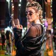 Look de Julia Faria: estilo rocker é inspiração para os próximos dias de Rock in Rio