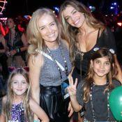 Mais um dia! Angélica leva os filhos para show de Anitta no Rock in Rio