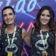 Filha de Fátima Bernardes, Beatriz contou que mantém boa relação com Túlio Gadêlha, namorado da apresentadora