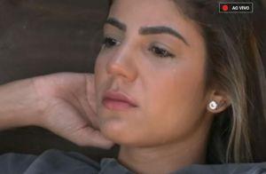'A Fazenda': Hariany chora após beijos em Lucas e web especula. 'Julgamentos'