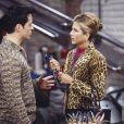 Jennifer Aniston intepretou em 'Friends' ao lado de Courteney Cox (Mônica Geller), Lisa Kudrow (Phoebe Buffay), Matthew Perry (Chandler Bing), Matt LeBlanc (Joey Tribbiani) e David Schwimmer (Ross Geller)