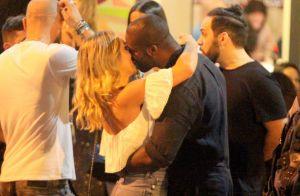 Novo casal! Rafael Zulu assume namoro e troca beijos com Aline Becker em bar