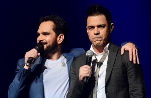 Luciano Camargo explica camarim separado do irmão Zezé: 'Cada um tem seu espaço'