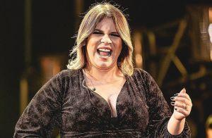 Marília Mendonça mostra mudança no umbigo na gravidez: 'Léo saindo'. Foto!