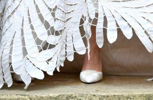 Inspire-se no vestido de noiva com transparência de nova princesa da França!