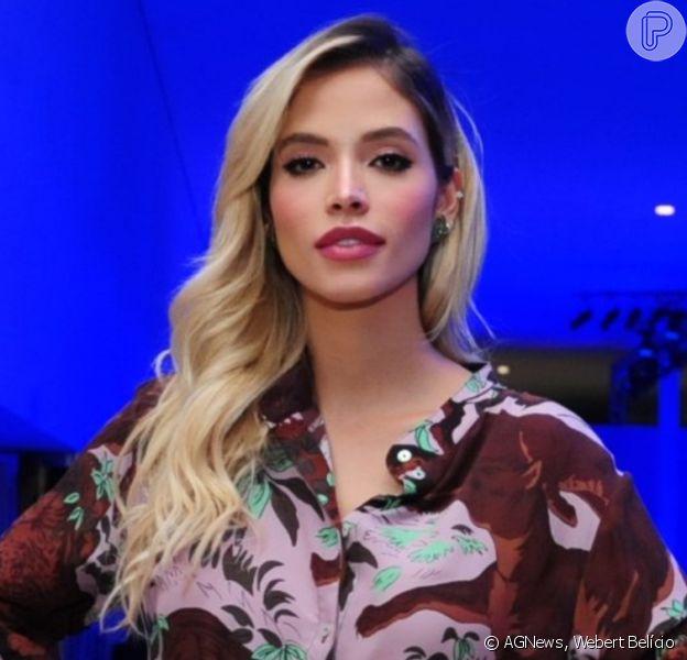 Carol Dias prestigia desfile de moda no Minas Trends,no Expominas, em Belo Horizonte, na noite desta terça-feira, 22 de outubro de 2019