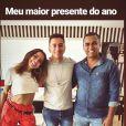 Anitta postou foto em seu Instagram Stories com o irmão Felipe Terra