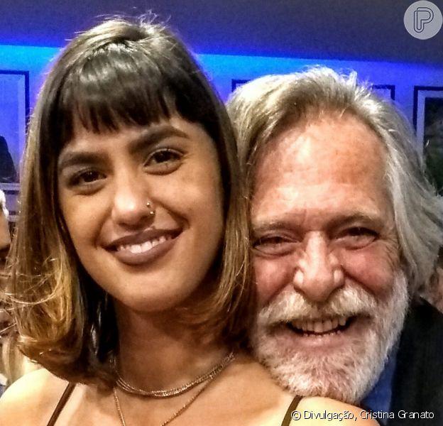 Namorada de José de Abreu, Carol Junger arrancou elogios por foto de biquíni: 'Quero ter esse bumbum'
