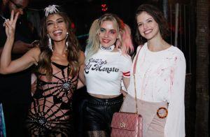 Ju Paes se reúne com elenco de 'A Dona do Pedaço' em festa de Halloween. Fotos!