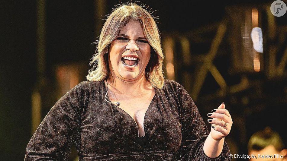 Grávida, Marília Mendonça vê que sapato de grife não cabe e tem reação divertida em vídeo nesta terça-feira, dia 05 de novembro de 2019