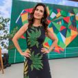 Fátima Bernardes aposta em moda versátil ao escolher looks para aparecer na TV, no programa 'Encontro'
