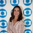 Fátima Bernardes não se importa com o comprimento dos looks para aparecer na TV, no programa 'Encontro'