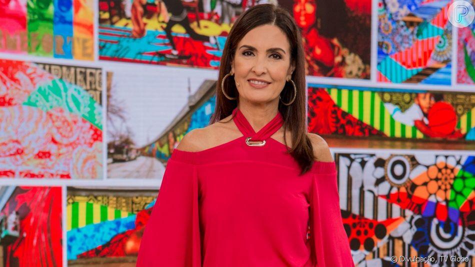 Fátima Bernardes aposta em moda acessível, confortável e moderna ao compor looks para o 'Encontro'