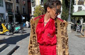 Poderosa! Anitta usa look de R$ 21 mil em Madrid e explica visual: 'Sou artista'