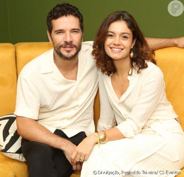 Sophie Charlotte e Daniel de Oliveira prestigiaram o show de Gal Costa no Rio de Janeiro neste sábado, 16 de novembro de 2019
