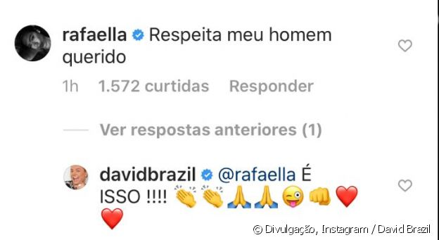 Rafaella Santos elogia o namorado, Gabigol: 'Respeita meu homem, querido'