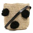 Presente de Natal: bolsa de palha em formato bucket com pompom da Riachuelo está disponível por R$ 89,90