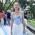 Marina Ruy Barbosa usou minibolsa Jacquemus de R$ 3500 na festa de Zoe