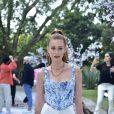 Marina Ruy Barbosa exibe look para festa de 1 ano da filha de Sabrina Sato, Zoe