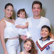 Filha de Safadão e Thyane Dantas rouba a cena em foto com a família: 'Estilosa'