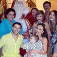 Filha de Sabrina Sato e Duda Nagle, Zoe, estranhou a visita do Papai Noel no último Natal