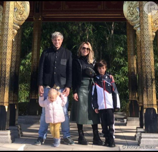 Eliana viaja com família ao Japão e mostra reação da filha ao ver panda em vídeo no Instagram Stories na sexta-feira, dia 10 de janeiro de 2020