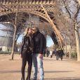 Eliana estava em Paris, na França, com a família, antes de desembarcar no Japão
