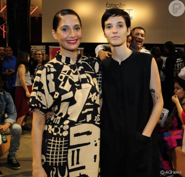 Camila Pitanga curte viagem à Chapada Diamantina com a namorada, Beatriz Coelho, em 11 de janeiro de 2020