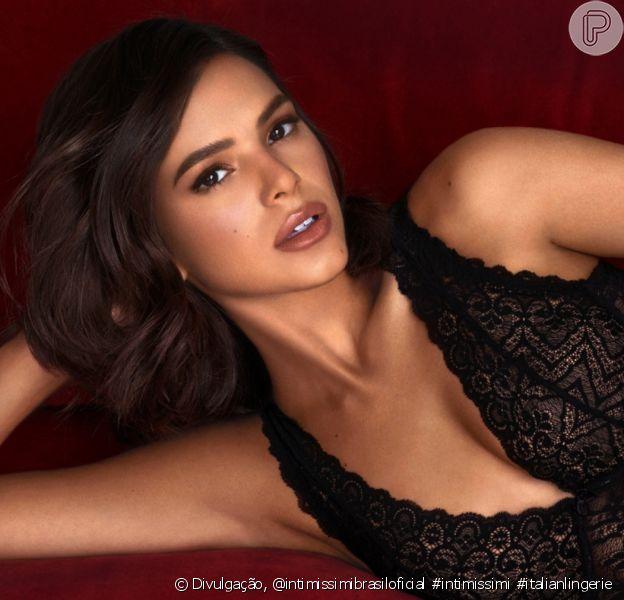 Bruna Marquezine apareceu de lingerie em sua rede social neste domingo, 2 de fevereiro de 2020