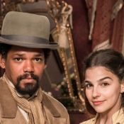 'Nos Tempos do Imperador':filha de coronel, Pilar foge e se apaixona por escravo