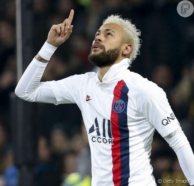 Neymar é elogiado por marido da ex, Carol Dantas, e revela emoção nesta quarta-feira, dia 05 de fevereiro de 2020