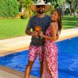 Mulher do cantor Sorocaba, Biah Rodrigues está esperando um menino