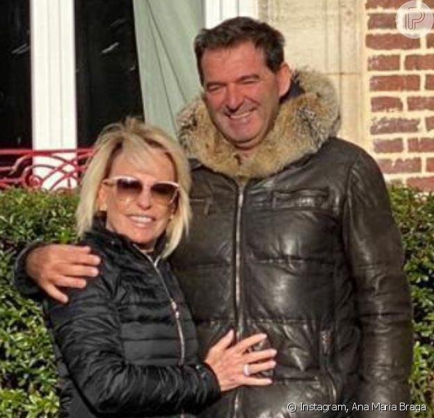 Ana Maria Braga se casa com o francêsJohnny Lucet