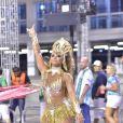 Internautas elogiaram fantasia de Viviane Araujo em ensaio de Carnaval