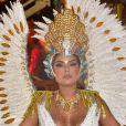 Munik Nunes desfilou como musa da Colorado do Brás neste carnaval 2020